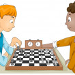 Stock Photo: Chess Match