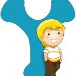 Kiddie Alphabet — Stock Photo #7601274