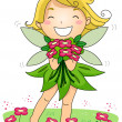 Spring Fairy — Stock Photo #7601285