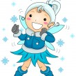 Winter Fairy — Stock Photo