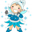 Winter Fairy — Stock Photo #7601289