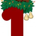 Twelve Days of Christmas — Stock Photo