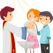 Stock Photo: Baptism