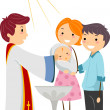 Baptism — Stock Photo