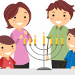 Hanukkah - Stock Photo