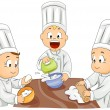 Stock Photo: Little Bakers