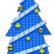 Christmas Tree Design — Foto Stock
