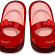 Baby Shoes - Stockfoto