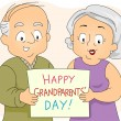 图库照片: Grandparents' Day