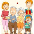 Stock Photo: Grandparents' Day