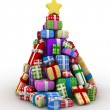 Stock Photo: Christmas Tree Design