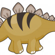 Stegosaurus — Stock Photo