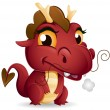 Baby Dragon — Stock Photo #7602189