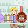 Stock Photo: Science Lab