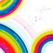 Rainbow Background — Foto de Stock