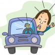 Road Rage — Stock Photo #7602480