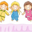 Pajama Party - Stock Photo