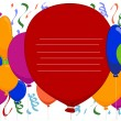 Balloons Background — Foto de Stock