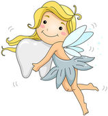 Tooth Fairy — Stock Photo