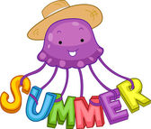 Summer Jellyfish — Stock Photo