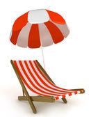 Beach Chair — Stock Photo