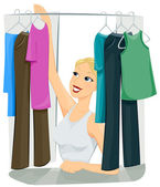 Closet — Stock Photo