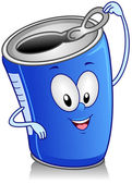 Canned Drink — Stock Photo