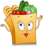 Grocery Bag — Stock Photo