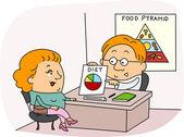 Dietista — Foto de Stock