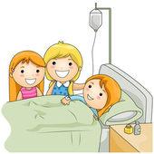 Hospital Visit — Stock Photo