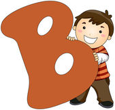 Kiddie Alphabet — Stock Photo