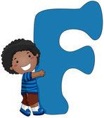 Kiddie Alphabet — Stock Photo