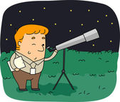 Astronomer — Stock Photo