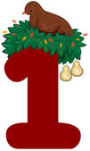 Dvanáct vánočních dnů — Stock fotografie