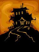 Haunted castle — Stockfoto