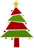 Christmas Tree Design — Stock Photo