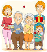 Grandparents' Day — 图库照片