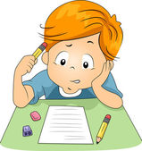 Kid Exam — Stock Photo