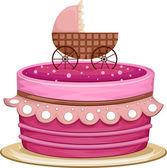 Cake Crib — Stock Photo