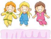Pajama Party — Stock Photo