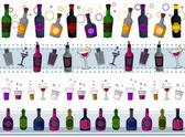 Drinks Borders — Stock Photo
