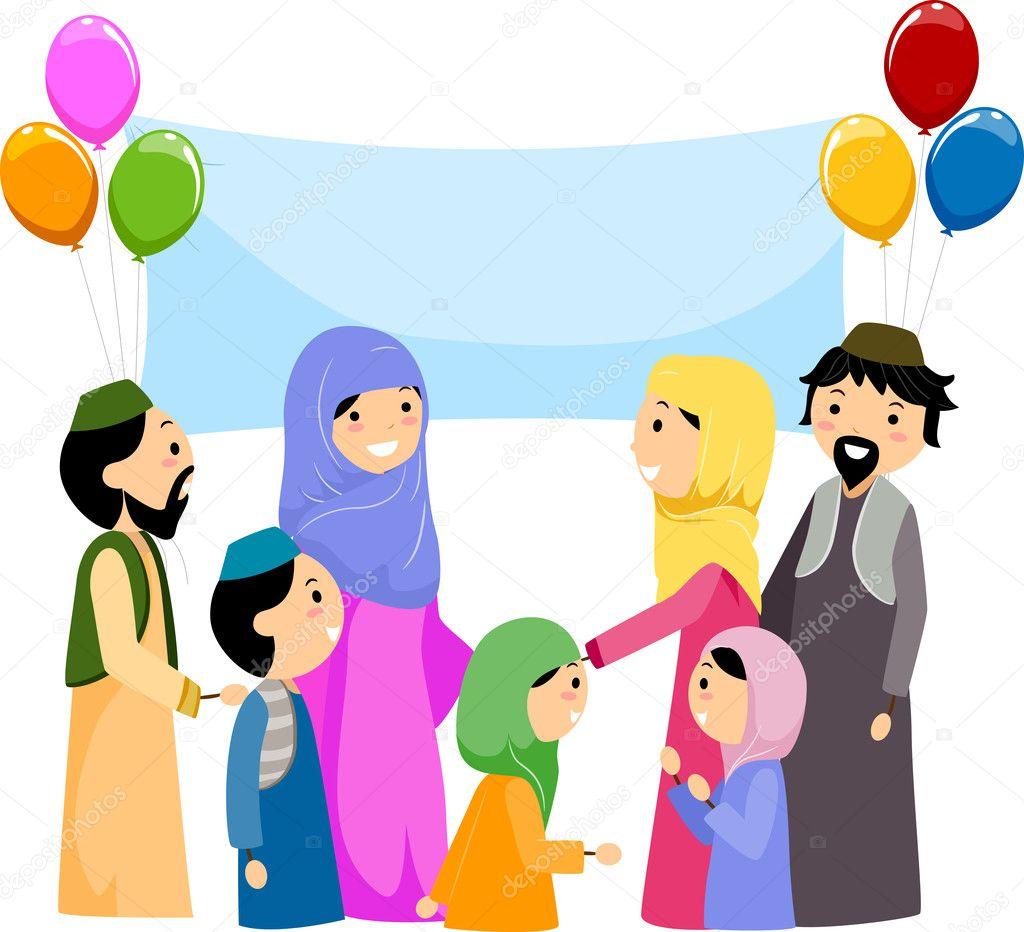 Eid al-Fitr — Stock Photo © lenmdp #7601473