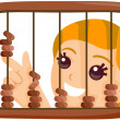 Abacus Kid — Stock Photo