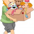 Box of Toys - Stock Photo