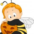 Stock Photo: Honeybee Baby