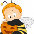 Honeybee Baby — Stock Photo