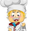 Future Chef — Stock Photo