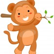 Cute Monkey — Stock Photo
