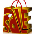 Sale Shopping Bag — Stock Photo