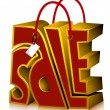 Sale Shopping Bag — Stock Photo #7733941